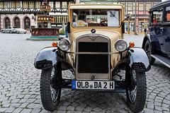 BMW DA 2 Baujahr 1929 (Corno3) Tags: fahrzeug grau markt ungesättigt oldtimer auto wernigerode rathausrallay sachsenanhalt deutschland