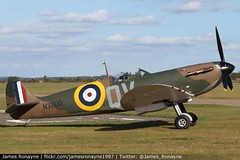 G-CFGJ | Supermarine Spitfire Mk.Ia | Imperial War Museum (james.ronayne) Tags: gcfgj supermarine spitfire mkia imperial war museum aeroplane airplane plane aircraft