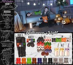 :: MS Design :: Halloween Night (Maddison Skute) Tags: halloween secondlife secondlifephoto secondlifebento gacha gotcha gatcha chance secondlifeblog sl slblogger slblog onesie floraevent flora msdesign msd