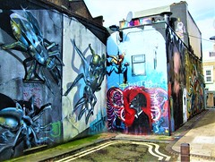 Murals In Chalk Farm - London. (Jim Linwood) Tags: mural camden london england