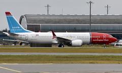 Norwegian LN-BKC, OSL ENGM Gardermoen (Inger Bjørndal Foss) Tags: lnbkc norwegian boeing 737 max8 osl engm gardermoen