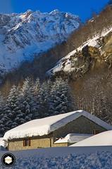 Forno Alpi Graie, Turin, Italy (EnricoRobettoPhotos) Tags: d300 enricorobettophotos flickr fornoalpigraie groscavallo winter snow landscape mountains nikon piedmont turin vallegrande italy