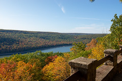 191015-FS-Allegheny-CJW-007 (usfs_Eastern_Region) Tags: outside national naturephoto leaf leaves colors colours tree trees flowers landscape yellow lake orange red autumn fall foliage pennsylvania allegheny forest rimrock overlook