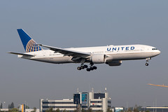 N77019, Boeing 777-224ER, United airlines (Freek Blokzijl) Tags: