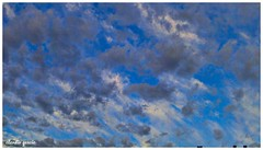 Pintura matinal (Claudio Andrés García) Tags: clouds nubes amanecer sunrise cielo sky skyscape naturaleza nature blue azul primavera springs ciudad city fotografía photography cybershot