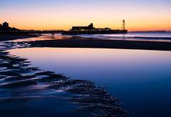 Bournemouth Sunrise (Julian Chilvers) Tags: dorset beach sunrise pier bournemouthairport sky building landscape uk sea