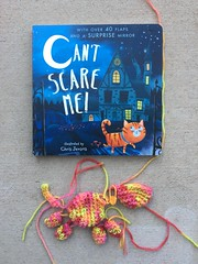 IMG_2086 (crochetbug13) Tags: crochet crocheted crocheting crochetcat amigurumi amigurumicat crochettoy halloweenbook