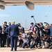 President Trump Arrives in TX