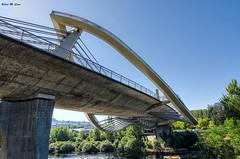 En las entrañas.... (Puente del Milenio - Orense) (Jose Manuel Cano) Tags: puente bridge orense españa spain nikond5100 milenio