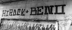 Graffiti in Amsterdam (wojofoto) Tags: amsterdam nederland netherland holland graffiti streetart wojofoto wolfgangjosten benoi beno hirock zwartwit monochrome blackandwhite