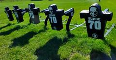 Football surge sleds, WSC practice field (ali eminov) Tags: wayne nebraska colleges waynestatecollege sportingequipment sleds footballsurgesleds