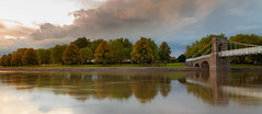 Thank You (Ian Emerson (Thanks for all the comments and faves) Tags: wilfordsuspensionbridge nottingham westbridgford nottinghamshire rivertrent autumnal clouds structure architecture trees colourful canon6d