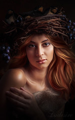 Lydia (Ladesire) Tags: girl portrait digital photomanipulation photoshop photoart fantasy