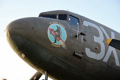 DRAG-EM-OOT C47 NOSE CLOSE UP (toowoomba surfer) Tags: aircraft aviation aeroplane