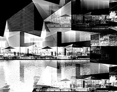 Urban Angles (pjpink) Tags: ica vcu art instituteofcontemporaryart institute museum rva richmond virginia may 2019 spring pjpink 2catswithcameras abstract abstraction blackandwhite bw monochrome uncolored colorless