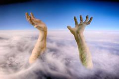 Help - Socorro (COLINA PACO) Tags: help socorro collage fotomanipulación fotomontaje photomanipulation mano hand hands manos franciscocolina