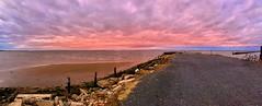 (yiorgosnj) Tags: bay sea ocean clouds ferry pier newjersey nj sunset