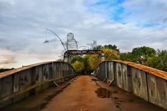 Fisherman bridge. (Darren Speak) Tags: cycleroute autumn railway bridge riverouse naburn