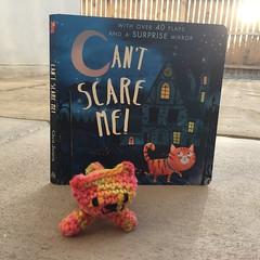 IMG_2100 (crochetbug13) Tags: crochet crocheted crocheting amigurumi amigurumicat crochetcat crochettoy childrensbook halloweenbook