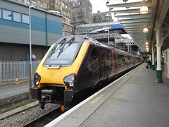 220009 at Edinburgh (17/10/19) (*ECMLexpress*) Tags: arriva cross country class 220 voyager dmu 220009 edinburgh waverley ecml