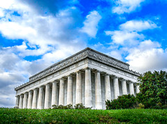 Lincoln Memorial (WeatherlyKC) Tags: dc washingtondc lincolnmemorial government statue monument lincoln washington history clouds sky cloud nationalmonuments monuments buildings