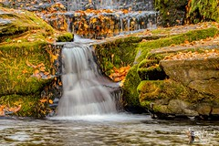 Waterfall in the Fall 2 (eaglerm_99) Tags: plankroad water falls milky down wet white