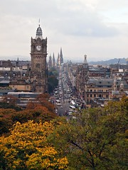 Photo of Princes Street, from Calton Hill, Edinburgh