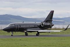 Falcon 2000EX M-CKSB (Mark McEwan) Tags: dassault falcon falcon2000ex mcksb dnd dundee dundeeairport dunhilllinkschampionship bizjet aviation aircraft airplane