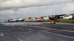LINE UP LIGHT AIRCRAFT JETFEST NORTH WEALD (toowoomba surfer) Tags: aircraft aviation aeroplane