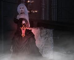 O' Death (Vanjah Rajal) Tags: secondlife sl goth gothic dark vampire crypt vampir