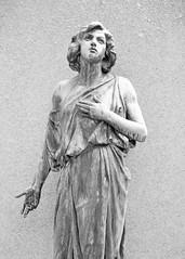 Pleading (KaDeWeGirl) Tags: newyorkstate westchester sleepyhollow cemetery sculpture statue grave sorrow explore