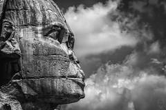 Confirmado: Obelix estuvo allí. (Egg2704) Tags: egipto esfinge laesfinge guiza estatua escultura antiguoegipto blancoynegro blackandwhite blanconegro blackwhite byn bn eloygonzalo egg2704