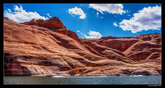 Navajo Canyon (lyncaudle) Tags: landscape lyncaudle nature roadtrip sky utah water westtrip lakepowell navajo canyon