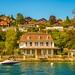 Swiss cottage by Lake Thun
