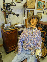 Scary Mannequin, 12 July 2019 (photography.by.ROEVER) Tags: minnesota 2019 july july2019 vacation roadtrip 2019vacation 2019roadtrip minnesota2019roadtrip minnesota2019vacation iowa harrisoncounty westerniowa missourivalley harrisoncountyhistoricalvillage iowawelcomecenter afternoon museum mannequin scarymannequin freakymannequin usa