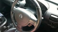2007 Vauxhall Combo Van /Leather Steering Wheel Conversion w/ radio controls (Sega32Bit-2) Tags: vauxhall combo leather steering wheel controls radio 2007 17cdti