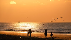 @ sea, you & me (Drummerdelight) Tags: seaside seascape sunlight sunset sun shillouettes peoplewatching people intothesun