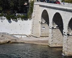 Old bridge (thomasgorman1) Tags: bridge travel france coast riviera french marseille nikon stone medieval pont