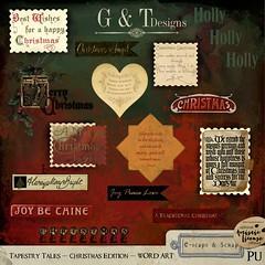 GTD_TT_CE_WORDART_300 (gracietracy2) Tags: new tapestry tales christmas edition 30 off until monday 21st october 2019 xxx httpsbitly32lhnxr