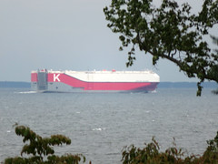 Apollon Highway (MasterGeorge) Tags: scientists cliffs chesapeake bay ship car carrier apollon highway