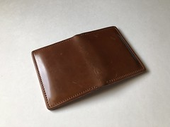 Ashland Leather - Bugs Moran wallet (dallow_bg) Tags: ashland leather ashlandleather wallet horween