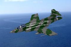 Blackburn Buccaneer S.2 (ABS Shipyards) Tags: lego aircraft war miltary royal navy air force raf rn blackburn hawker siddeley buccaneer bomber attack missile ldd render