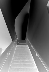 Light into Dark (pjpink) Tags: ica vcu art instituteofcontemporaryart institute museum rva richmond virginia may 2019 spring pjpink 2catswithcameras abstract abstraction blackandwhite bw monochrome uncolored colorless