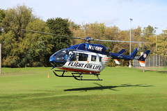 Flight For Life (raserf) Tags: flight for life medical helicopter hartland wisconsin village fire department