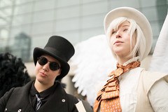 Good Omens (Paul Ocejo) Tags: nycc nyc cosplay comiccon newyorkcomiccon newyorkcity newyork nycc2019 2019 cosplayer cosplayers new york comic con convention javitscenter javits good omens aziraphale crowley neil gaimen