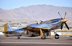 Goldfinger Reno 2019 (blackheartart) Tags: mustang northamerican championship airplane aviation aircraft warbid racer vintage goldfinger renoairraces p51d northamericanaviation wwii