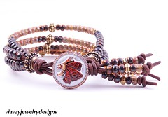 Brown Butterfly Leather Wrap Bohemian Bracelet (Keep up to date with Via Vay Jewelry Designs on Fl) Tags: leatherwrapbracelet wrapbracelet leatherbracelet leather butterflybracelet butterfly handmade handmadejewelry hippiebracelet hippieearrings handcrafted holidays fashion fashioncollection fallcollection fashionstylebracelet festive fashionblogger blogger viavayjewelrydesigns gypsystyle gypsyjewelry gifts seedbead seedbeadleatherwrapbracelet