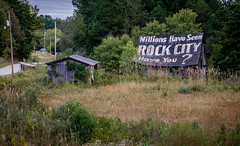 Have You? (Mr. Pick) Tags: see rock city millionshaveseen haveyou roane county kinsgston bradbury sign barn advertising tennessee tn