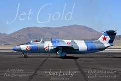 Jet Gold Class Winner Reno 2019 (blackheartart) Tags: l29 delfin jet jetclass reno renonationalchampiosnshipairraces vintage racer aircraft aviation airplane 2019