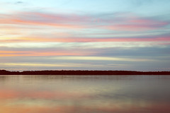 Reflections of Dale (matthewkaz) Tags: uncledale dale death rip restinpeace restincolor lake limelake sunset clouds sky reflection reflections leelanau cedar maplecity michigan puremichigan summer longexposure 2019 water life